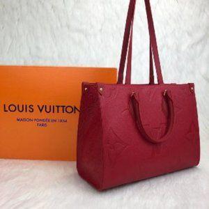 Louis Vuitton Onthego MM Empreinte Bag